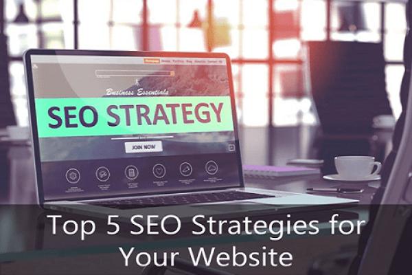 top 5 SEO strategies